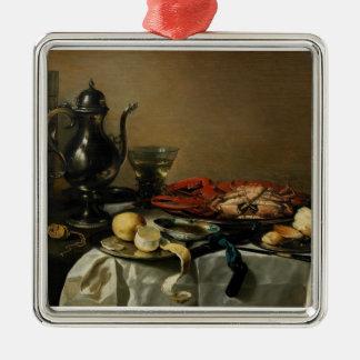 Still Life, 1643 (oil on panel) Christmas Ornament