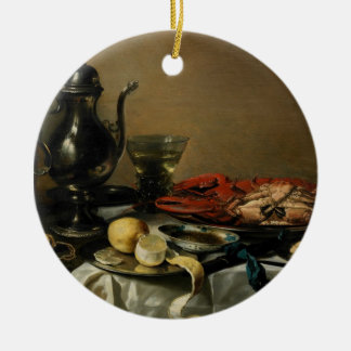 Still Life, 1643 (oil on panel) Christmas Ornament