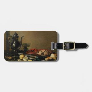 Still Life, 1643 (oil on panel) Luggage Tag