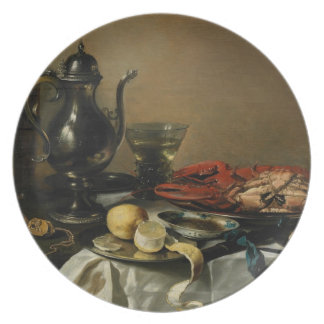 Still Life, 1643 (oil on panel) Party Plates