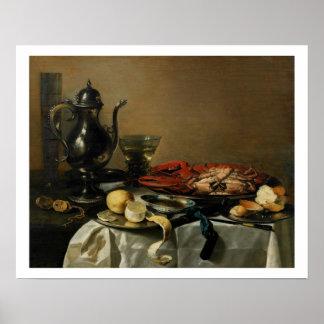 Still Life, 1643 (oil on panel) Poster