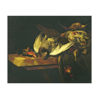 Still Life, 1663 Canvas Print