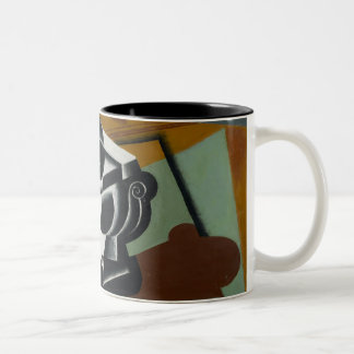 Still Life, 1917 (oil on panel) Two-Tone Coffee Mug