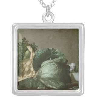 Still Life 3 Silver Plated Necklace