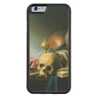 Still Life: An Allegory of the Vanities of Human L Carved Maple iPhone 6 Bumper Case
