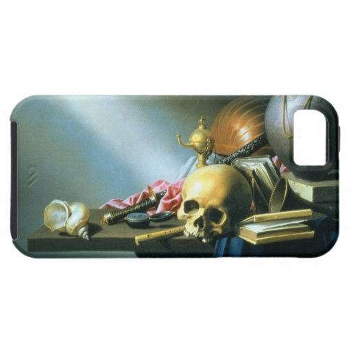 Still Life: An Allegory of the Vanities of Human L iPhone 5 Cases