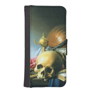 Still Life: An Allegory of the Vanities of Human L iPhone SE/5/5s Wallet Case