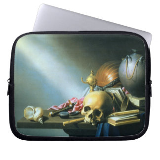 Still Life: An Allegory of the Vanities of Human L Laptop Sleeve