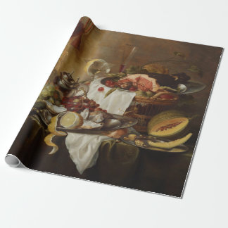 Still Life art wrapping paper