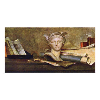 Still Life By Chardin Jean-Baptiste Siméon (Best Q Customised Photo Card