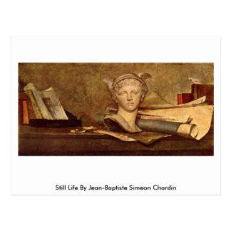 Still Life By Jean-Baptiste Simeon Chardin Postcard