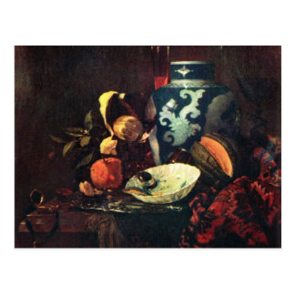 Still Life By Kalf Willem Best Quality Post Cards