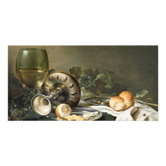 Still Life by Willem Claeszoon Heda Photo Card