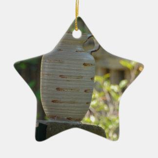 Still Life Ceramic Star Decoration