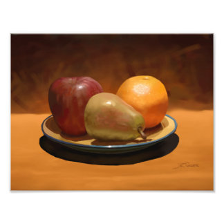 Still Life Fruit Arrangement Photo Print