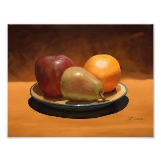 Still Life Fruit Arrangement Photo Print