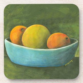 Still Life Fruit Bowl Coaster