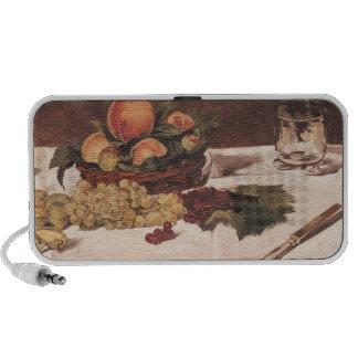 Still Life: Fruit on a Table, 1864 Travelling Speaker