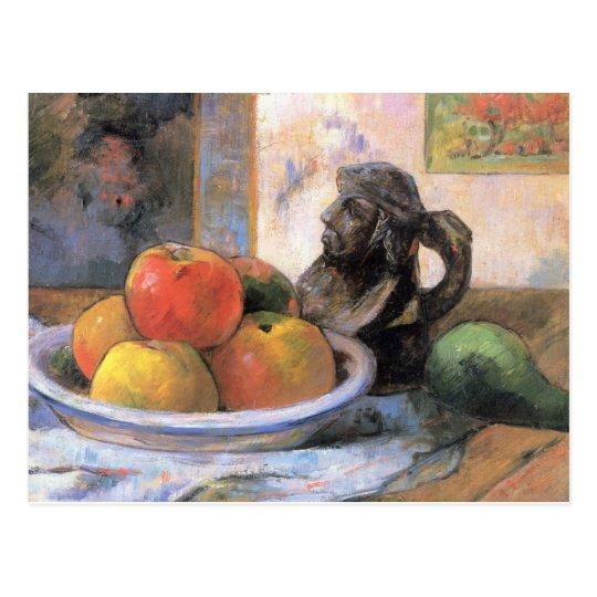 Still life fruit - Paul Gauguin Postcard