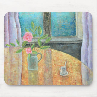 Still Life in Window with Camellia 2012 Mouse Pad