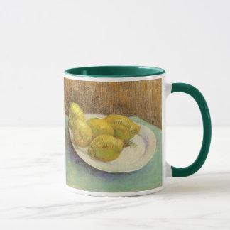 Still Life Lemons on a Plate by Vincent van Gogh Mug
