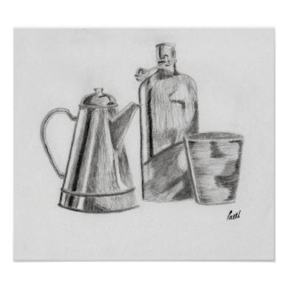 Still Life - Objects Poster