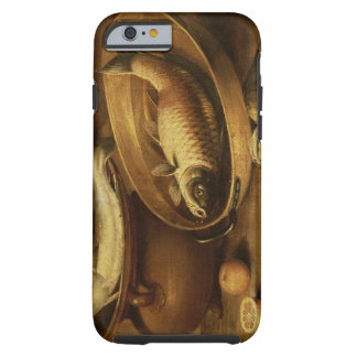 Still Life of Fish and Lemons Tough iPhone 6 Case
