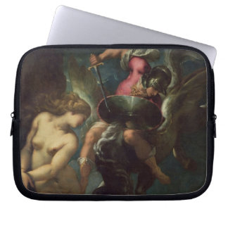 Still Life of Fish, c.1670-80 (oil on canvas) Laptop Sleeve
