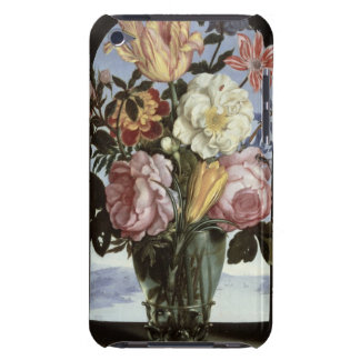 Still life of flowers in a drinking glass barely there iPod case