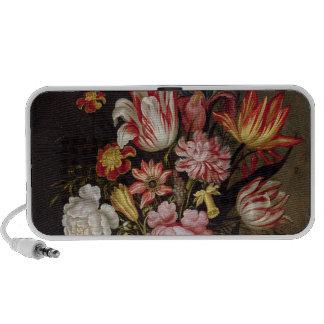 Still Life of Flowers in an Ovoid Vase Laptop Speakers