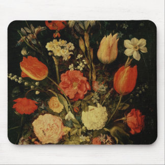Still Life of Flowers Mouse Mat