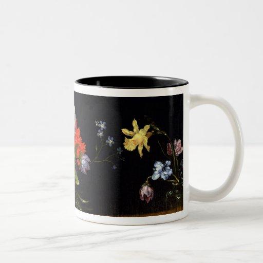 Still Life of Flowers Coffee Mugs
