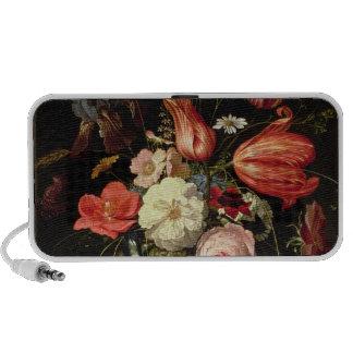 Still Life of Flowers on a Ledge Speaker