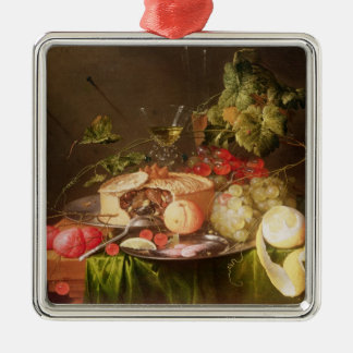 Still Life of Fruit Christmas Ornament