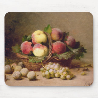 Still life of fruit mouse pad