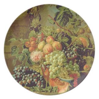 Still Life of Fruit Plate