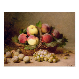 Still life of fruit postcard