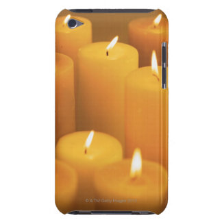 Still life of lighted candles iPod touch Case-Mate case