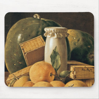 Still Life of Oranges, Watermelon Mouse Pad