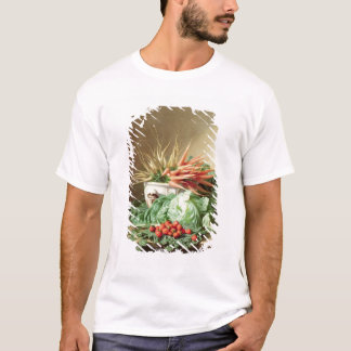 Still Life of Strawberries, Carrots and Cabbage T-Shirt