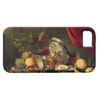 Still Life (oil on panel) iPhone 5 Cover
