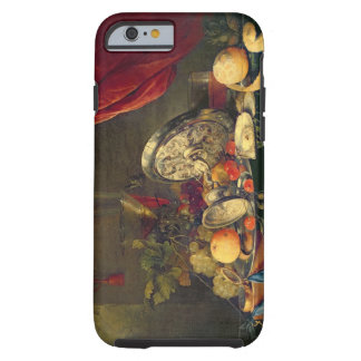 Still Life (oil on panel) Tough iPhone 6 Case