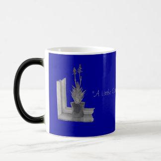 Still life pot plant drawing realist art morphing mug