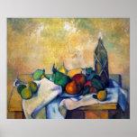 Still life, Rum by Paul Cezanne