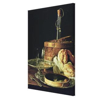 Still Life. The Snack Canvas Print