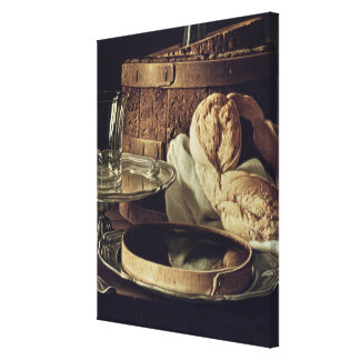 Still Life. The Snack Canvas Print