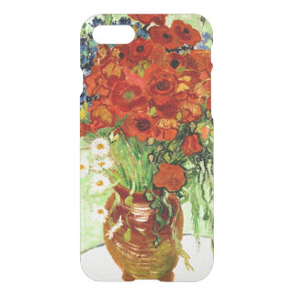 Still Life, Vase with Daisies and Poppies (1890) iPhone 8/7 Case