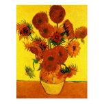Still Life Vase with Fifteen Sunflowers -Van Gogh