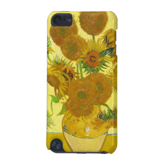 Still Life - Vase with Fifteen Sunflowers van gogh iPod Touch 5G Covers