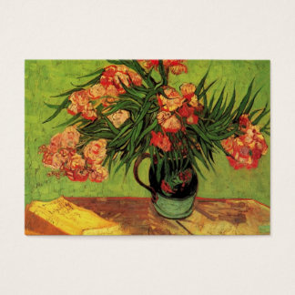 Still Life Vase with Oleanders and Books, Van Gogh